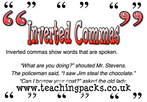 Inverted Commas - The Punctuation Pack