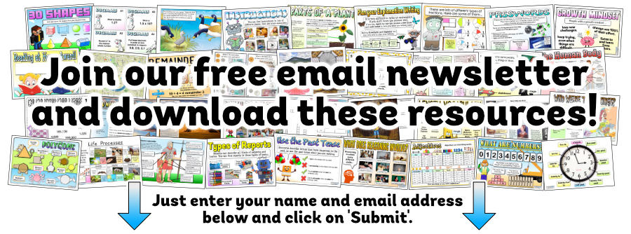 Join our free email newsletter and download these resources!
