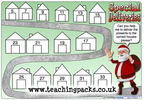 Special Deliveries Santa Maps