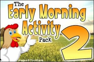 The Early Morning Activity Pack 2