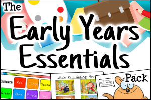 The Early Years Essentials Pack
