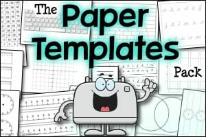 The Paper Templates Pack