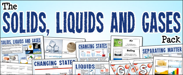 The Solids, Liquids and Gases Pack
