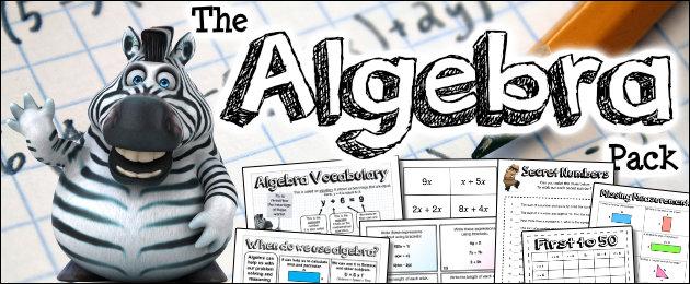 The Algebra Pack
