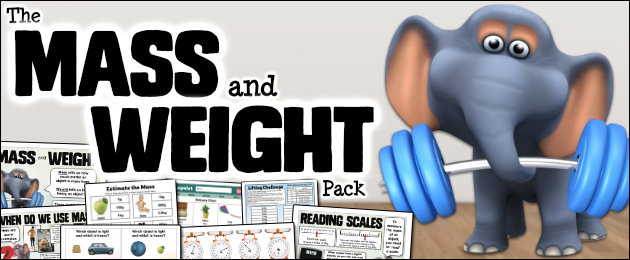 The Mass and Weight Pack