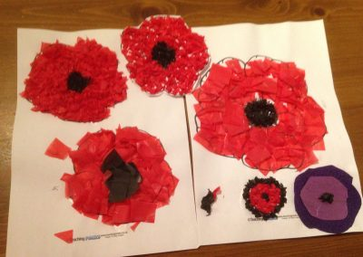 The Remembrance Pack (sent by Sheila)