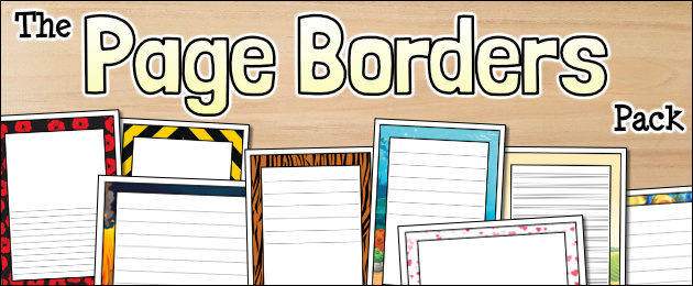 The Page Borders Pack