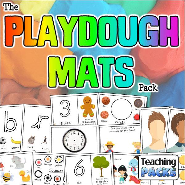 The Playdough Mats Pack