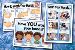 Free Hand Washing Posters for Schools
