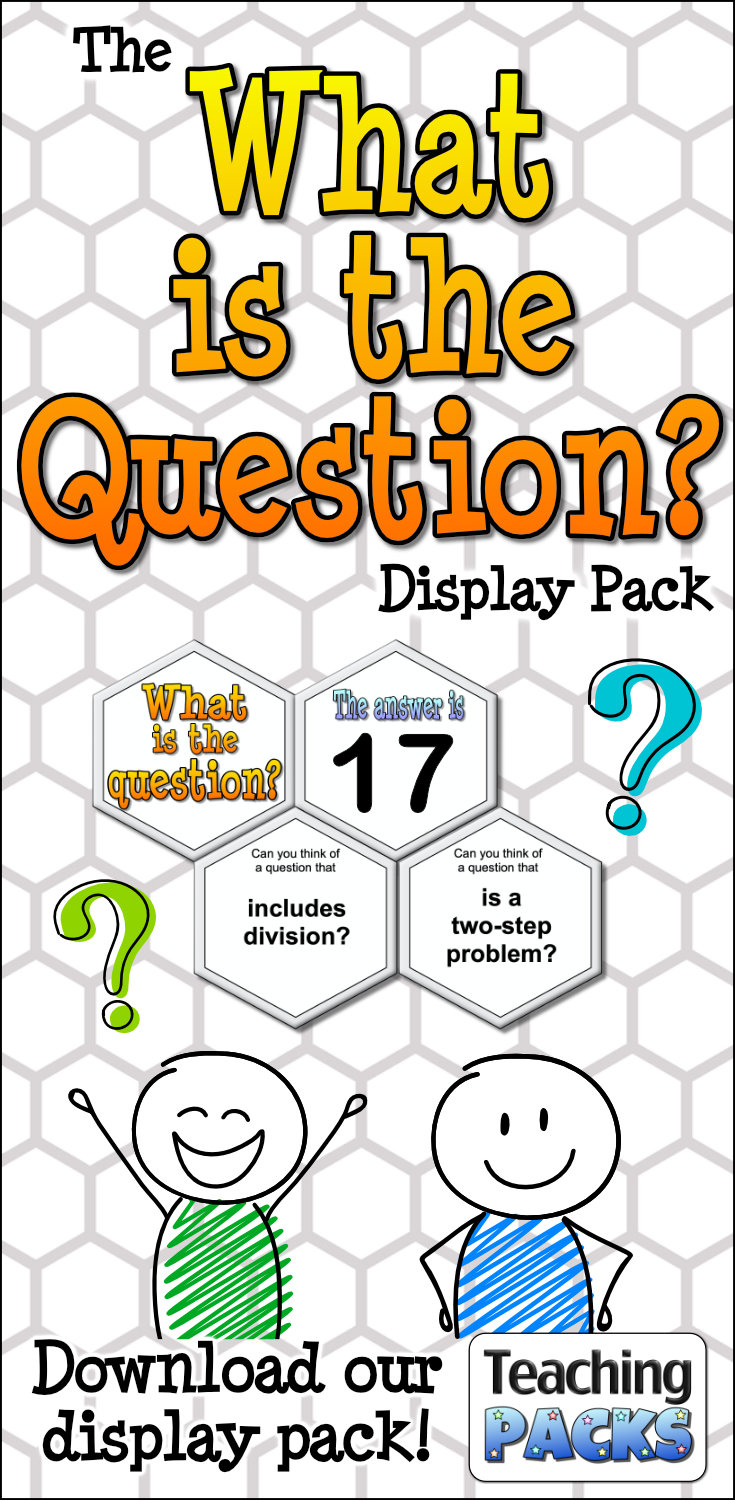 The What is the Question? Display Pack