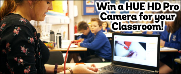 Win a HUE HD Pro Camera for your Classroom!