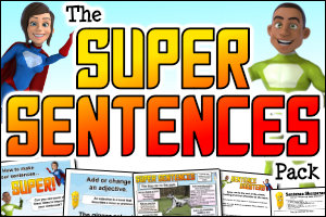 The Super Sentences Pack