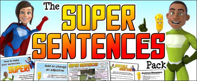 The Super Sentences Pack