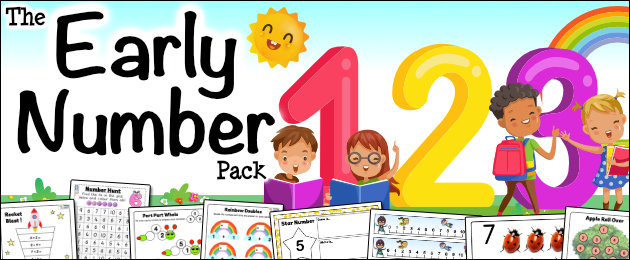 The Early Number Pack