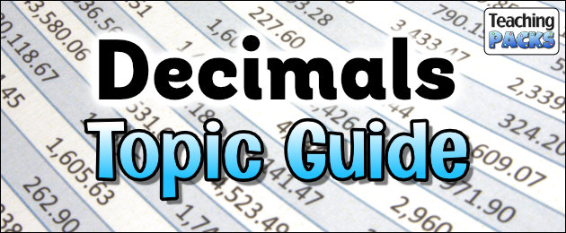 Decimals Topic Guide