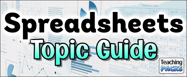 Spreadsheets Topic Guide