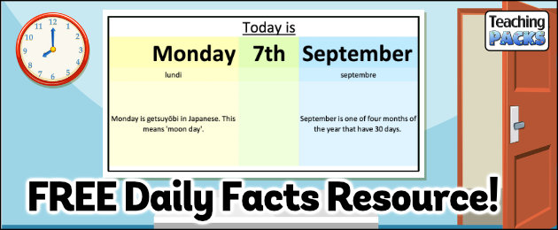 Free Daily Facts Resources!