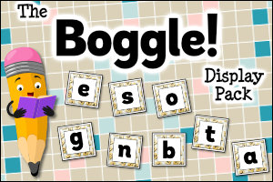 The Boggle Display Pack