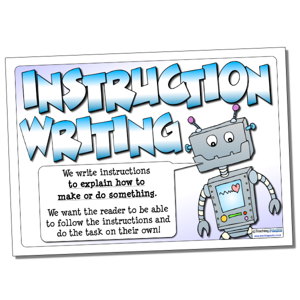 Instruction Writing Guide