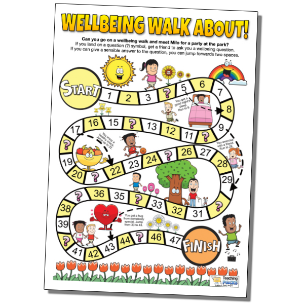 Wellbeing Walk About Game