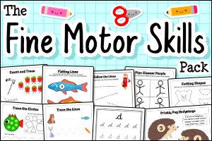 The Fine Motor Skills Pack