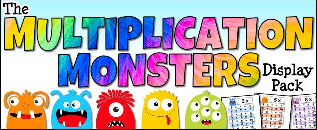 The Monster Multiplication Pack