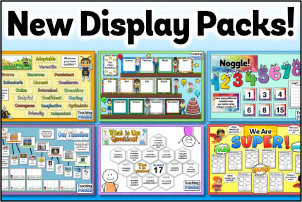 New Display Packs now available!