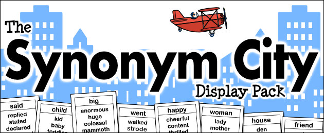 The Synonym City Display Pack