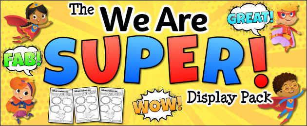 The We are SUPER Display Pack