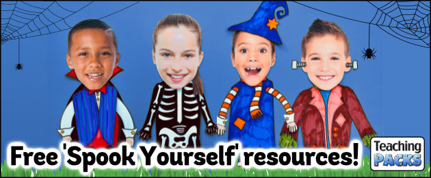 Free Spook Yourself resources!