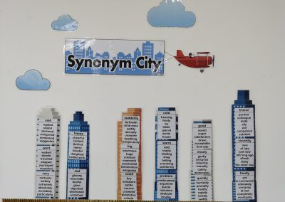 The Synonym City Display Pack (sent by Rowan)
