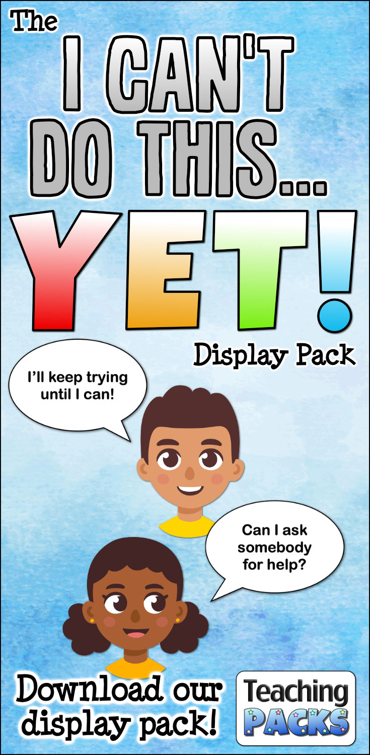 The I Can\'t Do This... YET! Display Pack