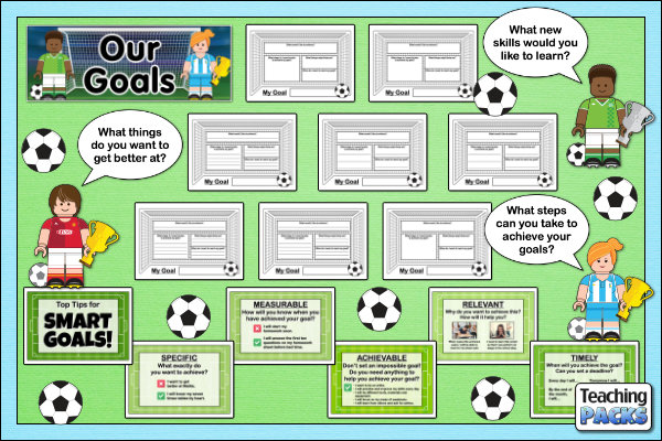 The Our Goals Display Pack