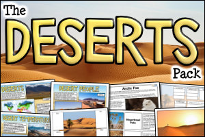 The Deserts Pack