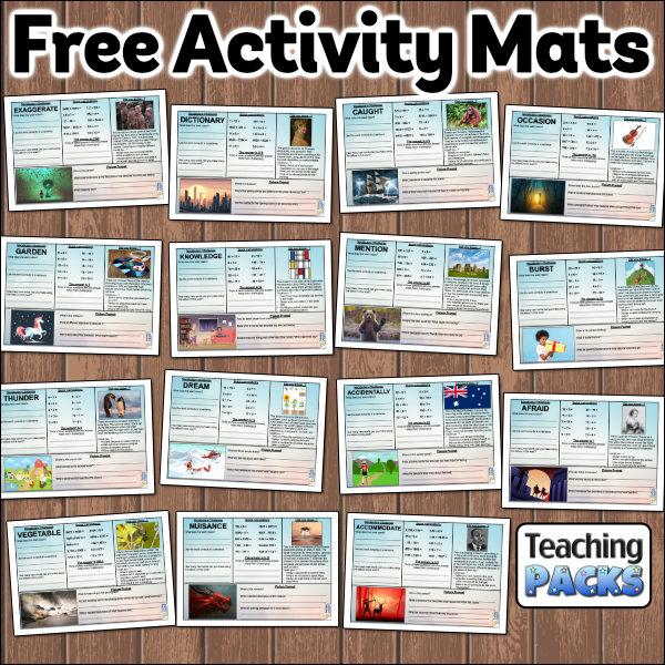 Free Activity Mats