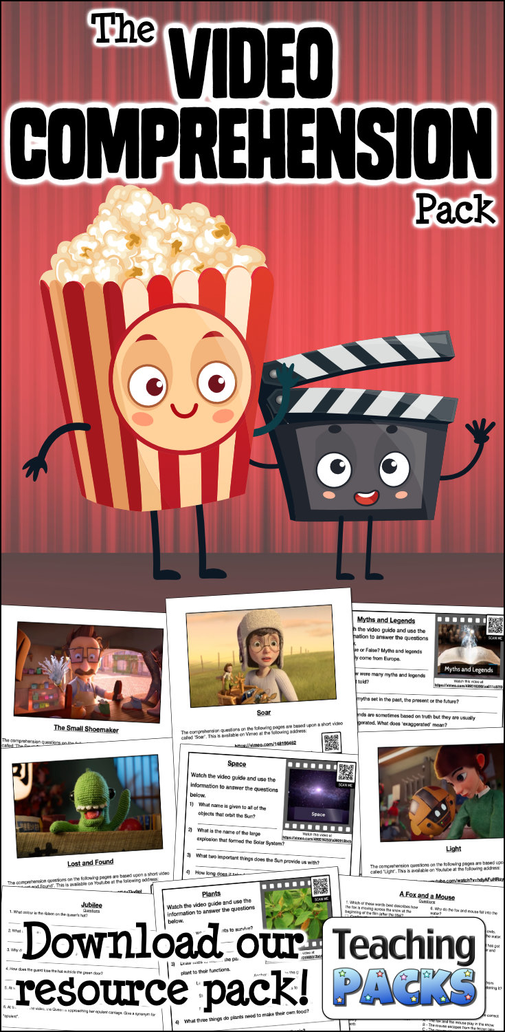 The Video Comprehension Pack