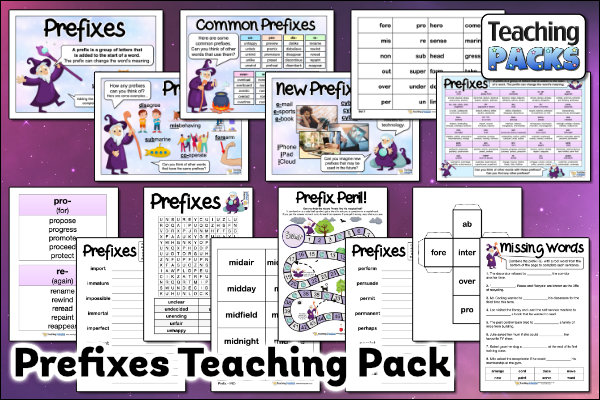 The Prefixes Pack