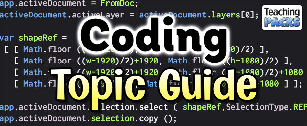 Coding Topic Guide for Teachers