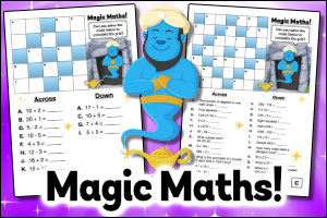Download FREE Magic Maths Resources!