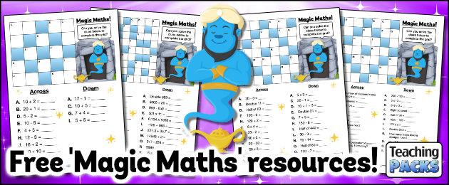 Free Magic Maths Resources!