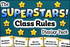 The Superstars Class Rules Display Pack