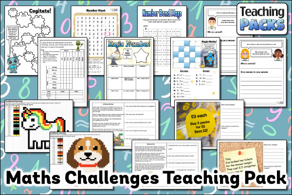 The Maths Challenges Pack