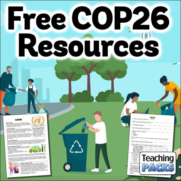 Download FREE COP26 Resources!